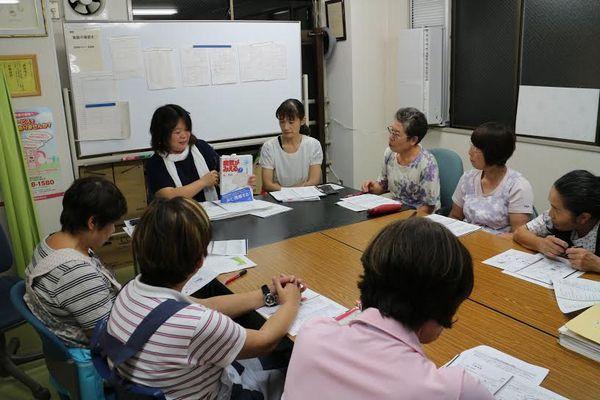 8月の勉強会 -地域包括ケアシステムと認知症-